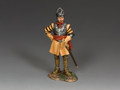 PnM049   Dismounted Roundhead Officer by King and Country