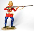 ZW-2001  24th Foot Lance Corporal Standing Firing by Empire Military Min.