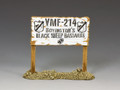 AF038 VMF-214 Signpost King and Country