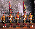BWCP  5 pcs Colour Party Marching by King & Country (Retired)