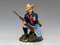 TRW096  Kneeling Officer w/ Pistol & Carbine by King and Country