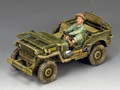 AF036  U.S. Marine Corps Jeep by King and Country