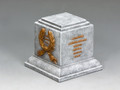 SP074 Square Statue Plinth (Greystone) by King and Country