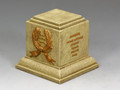 SP078 Square Statue Plinth (Sandstone) by King and Country