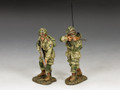 "DD285-2   ""US Paratroopers Covering Fire"" (101st Airborne) by King and Country"