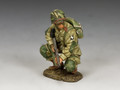 "DD286-2 ""US Paratrooper Crouching Tommy Gunner"" (101st Airborne) by King and Country"