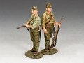 "JN023 ""Airfield Guard, Imperial Japanese Army"" by King and Country (RETIRED)"