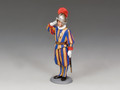"CE019  ""Swiss Guard Corporal Saluting"" by King and Country"