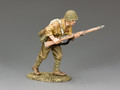 JN028  Advancing Japanese Soldier by King and Country