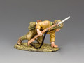 JN037  Crouching Soldier by King and Country