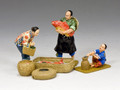 HK260 G/M  The Fish Seller Set by King and Country