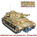 DAK038 PzKpw IV Ausf F1 with Short Barrel 75mm - 15th Panzer Division by First Legion RETIRED
