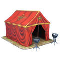 ROM179 Imperial Roman Command Tent and 2 Braziers by First Legion