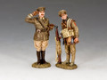 FW226  Capt. Edmund Blackaddr & Pvt. Baldrick by King and County