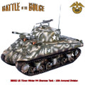 BB002  US 75mm Winter M4 Sherman Tank - 10th Armored Division by First Legion (RETIRED)