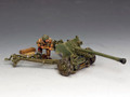 MG074(P)  L/Sgt. John Baskeyfield V.C. and his 6 pdr. Anti Tank Gun by King and Country