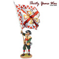 TYW011  Spanish Tercio Standard Bearer by First Legion