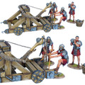 ROM180 Roman Onager with 3 Crew - Red Tunics  by First Legion (RETIRED)