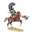 TYW010  Polish Winged Hussar Charging with Lance by First Legion