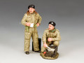 DD302  British Dismounted AFV (Armoured Fighting Vehicle) Crew Set #2 by King and Country