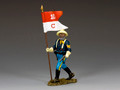 TRW116  Buffalo Soldiers Sergeant w/ Guidon by King and Country