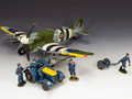 SGS-RAF001 Typhoon Airfield Scene by King and Country (RETIRED)