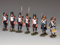 NA-S05 The 'Old Guard' Marching set (7 x figure set) by King and Country