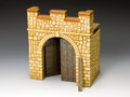 RF002(S) Roman Fort Rear Gate Section (Sandstone) by King and Country