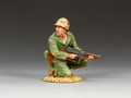 USMC013 Marine Officer w/Tommy Gun by King and Country