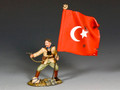 AL098 Turkish Officer with Flag by King and Country