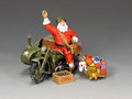 XM017-02 GI Santa On A Motorbike by King and Country