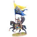 TYW005c  Polish Winged Hussar Alexander Sobieski's Battle Flag at Vienna LE100 by First Legion (RETIRED)