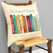 Book Family Edition Cushion Cover