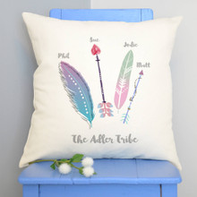 Feather Tribe Cushion Cover