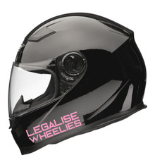 Legalise Wheelies Decal