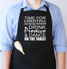 Time to Drink & Dance Apron