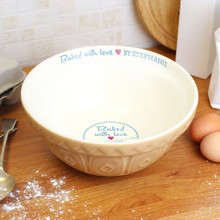 Baked with Love... Mixing Bowl