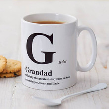 Personalised Letter Mug