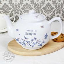 Blue Blossom Teapot