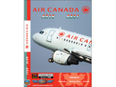 ACA5 World Air Routes (Just Planes) DVD Air Canada A319, A321 223 Minutes