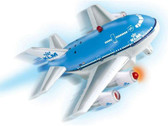 PPFP66N | Toys | Pull Back Fun Plane - KLM (with light and sound)