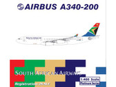 PH10579 | Phoenix 1:400 | Airbus A340-200 South African ZS-SLE