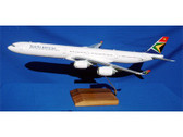 MA058 Custom Made Desktop Models 1:100 Airbus A340-600 South African