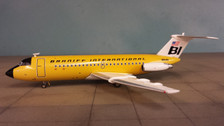JC2190 BAC-111-200 Braniff 'Lemon Yellow' N1548