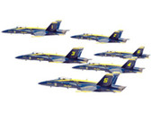 HG7594 | Hogan Die-cast 1:200 | F/A-18A Hornet Set US Navy 'Blue Angels' (6 in 1) | =SALE ITEM!= | 10% OFF