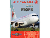 ACA9D World Air Routes (Just Planes) DVD Air Canada A319 ETOPS 270 Minutes (DVD Disc)