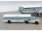 SCA002 | Sky Classics Airport Vehicles 1:200 | Bedford J5 Articulated Bus BOAC 'Grey'
