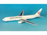 BJE3008 Hogan Die-cast 1:400 Boeing 767-300ER JAL Japan Airlines JA654J