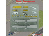 AS002001 Witty 400 1:400 Airport Accessories 20 Pieces