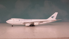 A413045 Apollo 400 1:400 Boeing 747-267B Garuda TF-ATC is due: February 2014